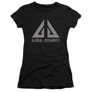 Eureka/Global Dynamics Logo Junior Sheer in Black