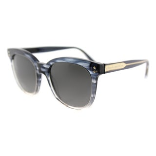 Victoria Beckham VBS 94 C21 The VB Blue Scale Plastic Square Grey Gradient Zeiss Lens Sunglasses