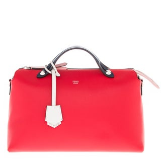 Fendi Medium Tri-Color 'By The Way' Leather Satchel Bag