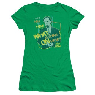 Saved By The Bell/Mr. Belding Junior Sheer in Kelly Green