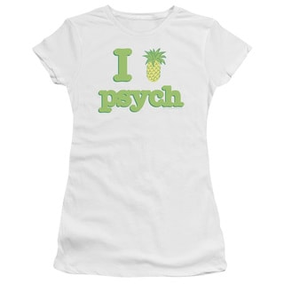 Psych/I Like Psych Junior Sheer in White