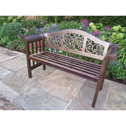 Dakota Aluminum Royal Bench Settee