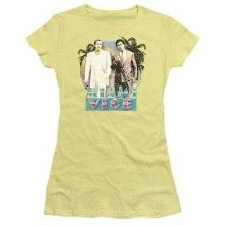 Miami Vice/80's Love Junior Sheer in Banana