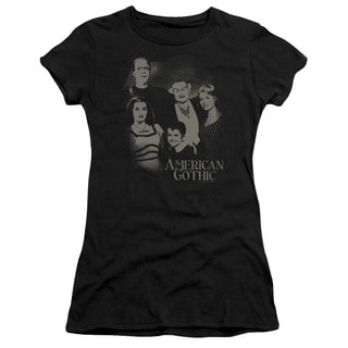 The Munsters/American Gothic Junior Sheer in Black