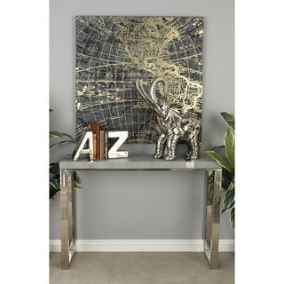 Stainless Steel Vinyl Cool Console Table