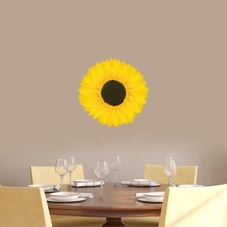 Sunflower Printed Vinyl Wall Decals