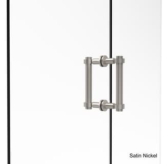 Allied Brass Contemporary 6-inch Back-to-back Shower Door Pull