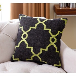 Abbyson Blakely Lattice Polyester-filled New Zealand Wool 20-inch Throw Pillow