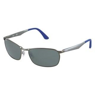 Ray-Ban RB3534 029/40 Gunmetal Frame Silver Mirror 59mm Lens Sunglasses