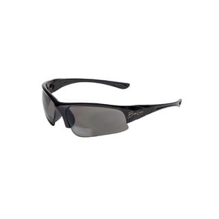 BluWater Babe 1 Sunglasses Black Frame with Grey Polarized Bifocal Lens