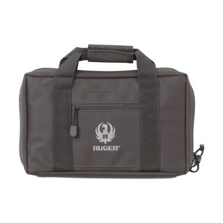 Allen Ruger Black Double Handgun Case