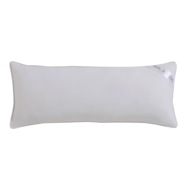 Shop Vcny Down And Feather 16 Inch Neckroll Pillow Free