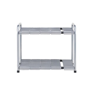 Seville Classics Steel Expandable Sink Shelf With Mesh Panels