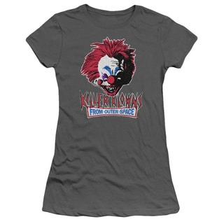 Killer Klowns From Outer Space/Rough Clown Junior Sheer in Charcoal in Charcoal