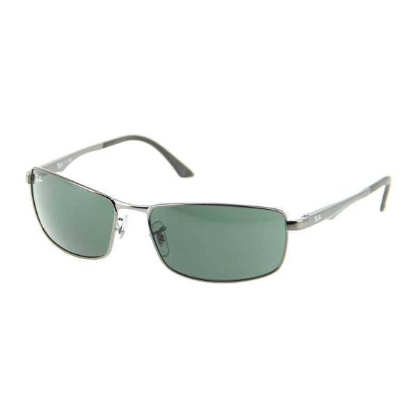 3be31211bae Ray-Ban RB3498 Gunmetal Frame Green Classic 61mm Lens Sunglasses