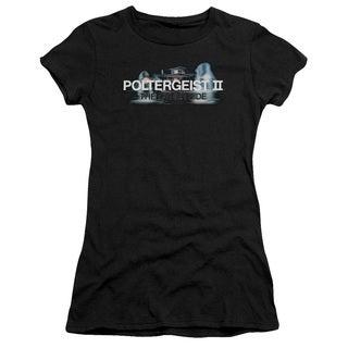 Poltergeist Ii/Logo Junior Sheer in Black in Black