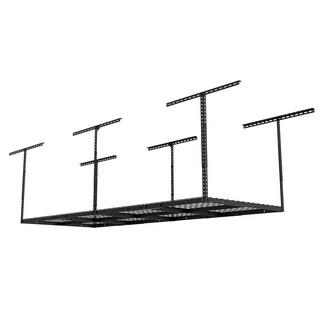 Fleximounts Black Steel Heavy-duty Overhead Storage Rack (72 x 36 x 40)