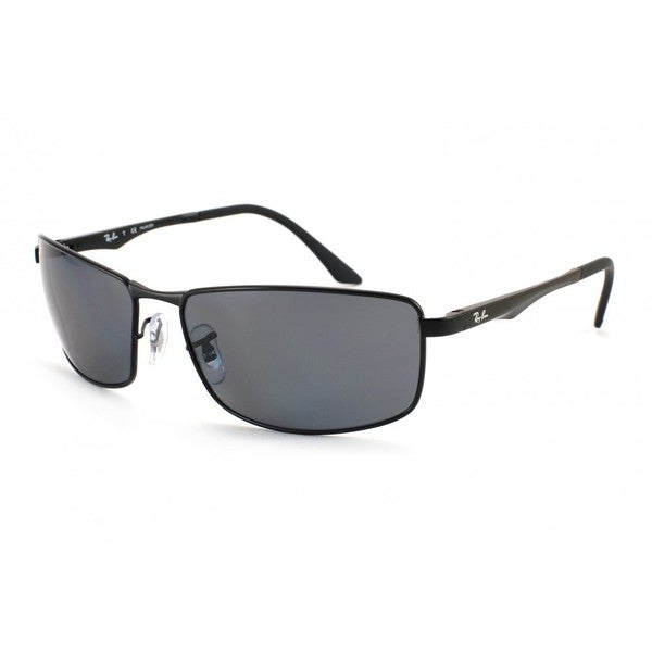 f378bed01d5 Ray-Ban RB3498 006 81 Black Frame Polarized Grey Gradient 64mm Lens  Sunglasses