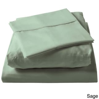 Brielle 100-percent Egyptian Cotton Sateen 630 Thread Count Pillowcase Set (Set of 2)