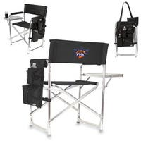Picnic Time Phoenix Suns Polyester, Aluminum, and Rubber Sports Chair