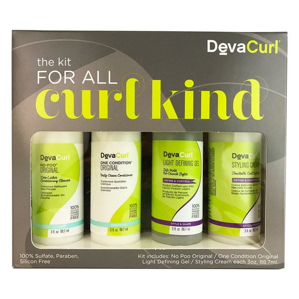 Deva Curl The Kit for All Curlkind 4-piece Set