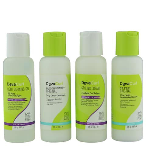 DevaCurl The Kit for All Curlkind 4-piece Set