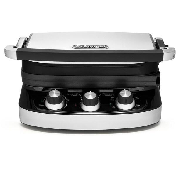 Delonghi Electric Grill ~ Delonghi cgh c in ceramic durastone grill and