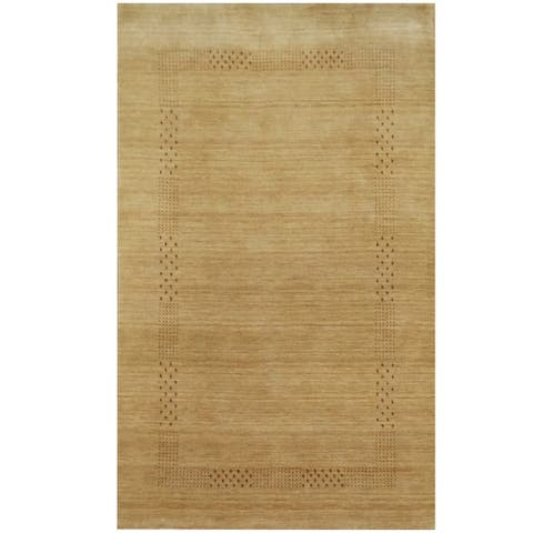Handmade One-of-a-Kind Gabbeh Wool Rug (India) - 3' x 5'