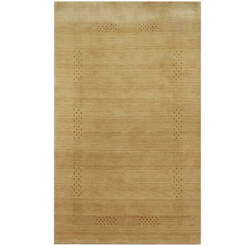 Handmade Herat Oriental Indoed Tribal Gabbeh Wool Rug (India) - 3' x 5'