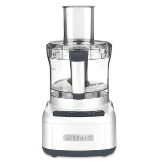 Cuisinart FP-8FR Elemental 8-Cup Food Processor, White (Refurbished)