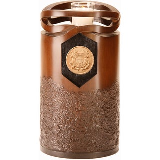 Infinity Urns Coast Guard Wood Finish Resin Urn