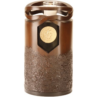 Infinity Urns Wood Finish Navy Urn