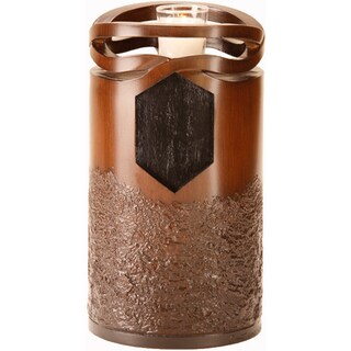Infinity Urn Wood-finish Resin Cremation Memorial Urn