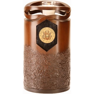 Infinity Urns Air Force Wood Finish Resin Urn