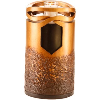 Bronze Finish Infinity Cremation Urn
