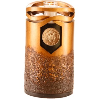 Infinity Urns Bronze Finish Army Urn