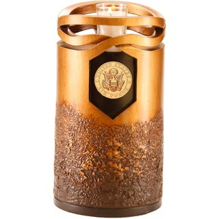 Infinity Bronze Finish Air Force Resin Urn