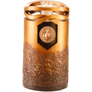 Urns by Canneto Infinity Bronze Resin Marine Corps Urn