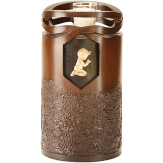 Canneto Urns Infinity Wood-finish Resin Child/Infant Urn