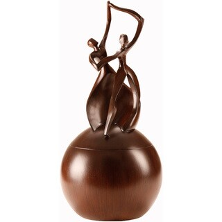 Urns by Canneto Dance of Life Wood Resin Adult Urn