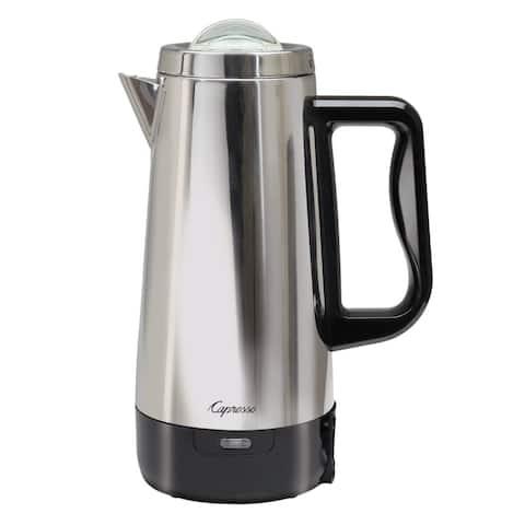 Capresso Perk Stainless Steel 12-Cup Coffee Percolator