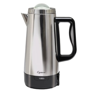 Capresso Perk Stainless Steel 12-Cup Coffee Percolator