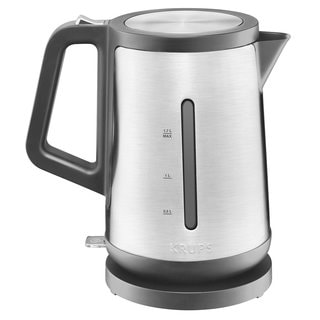 Krups BW442D50 Control Line Stainless Steel 1.7-liter Electric Kettle with Auto Shut-off