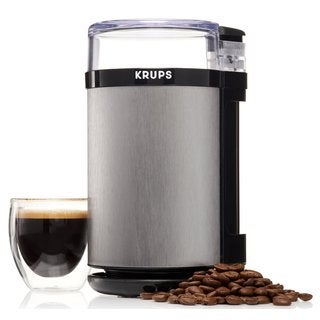 Krups Stainless Steel 3-ounce Electric Spice/Herbs/Coffee Grinder