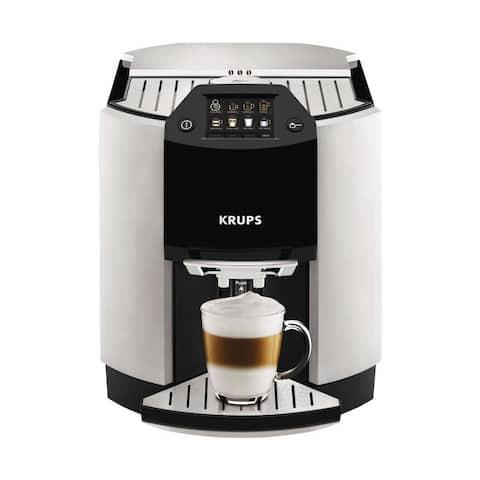 Krups EA9010 Barista Silver One-touch Cappuccino Machine