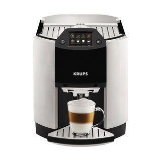 Link to Krups EA9010 Barista Silver One-touch Cappuccino Machine Similar Items in Kitchen Appliances