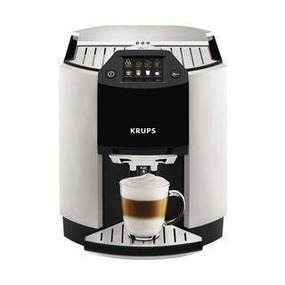 Krups EA9010 Barista Silver Fully Automatic One-touch Cappuccino Machine