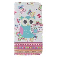 Insten Colorful Owl Leather Case Cover with Stand/ Wallet Flap Pouch/ Photo Display For Apple iPhone 6/ 6s