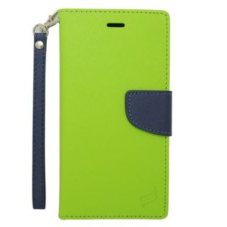 Insten Leather Case Cover Lanyard with Stand/ Wallet Flap Pouch/ Photo Display For Apple iPhone 6 Plus/ 6s Plus