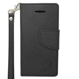 Insten Leather Case Cover Lanyard with Stand/ Wallet Flap Pouch/ Photo Display For Apple iPhone 5C